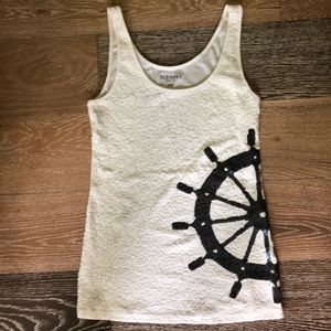 Nautical Sequin Tank